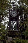 Grandfather Clock in the Villa Borghese Gardens