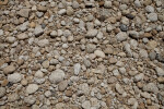 Gravel and Cobbles in a Dry Stream Bed
