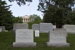 Gravestones and Arlington House
