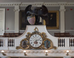 Great Hall Clock in Faneuil Hall Boston