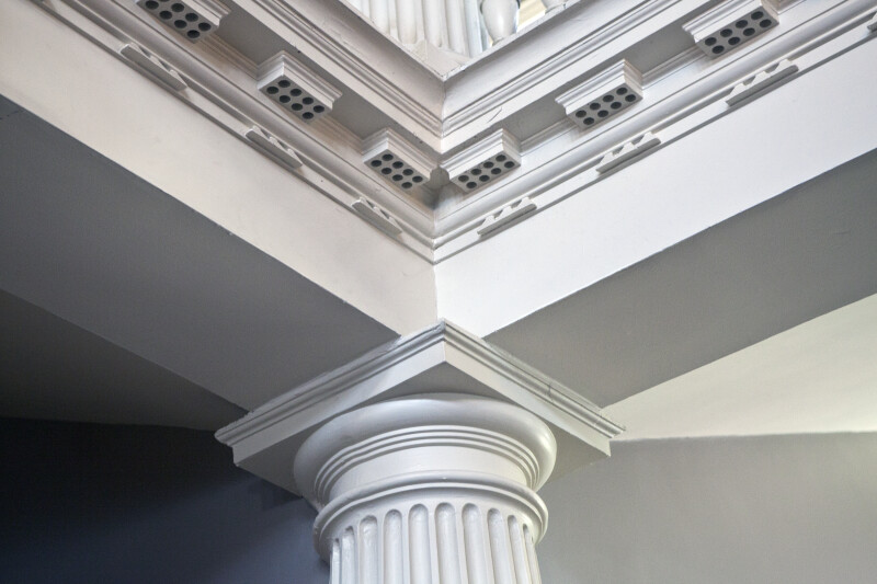 Great Hall Column and Molding