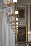 Great Hall Lighting and Columns
