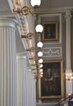 Great Hall Lighting and Columns