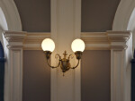 Great Hall Lighting and Molding