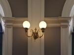 Great Hall Lighting and Molding