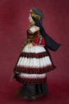 Greece Porcelain Doll Wearing Traditional Dress (Profile View)