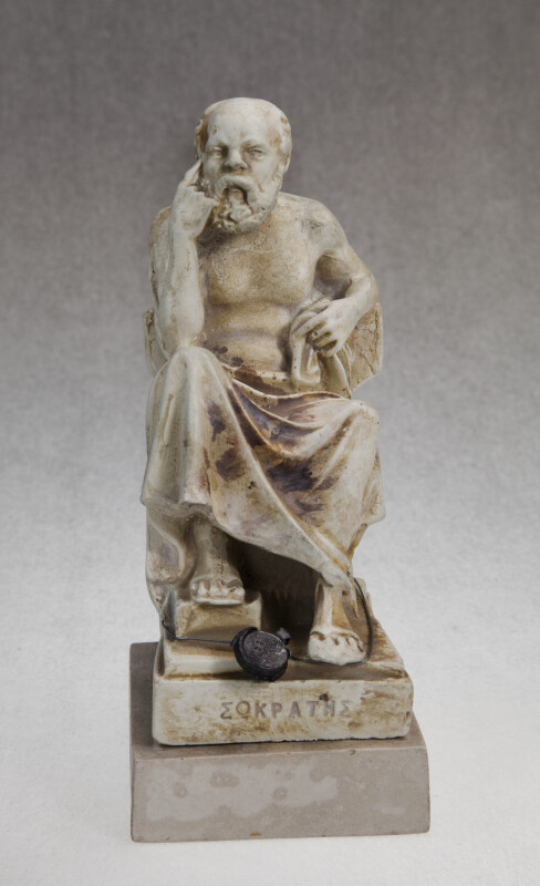 Greece-  Socrates Statue (Full View)