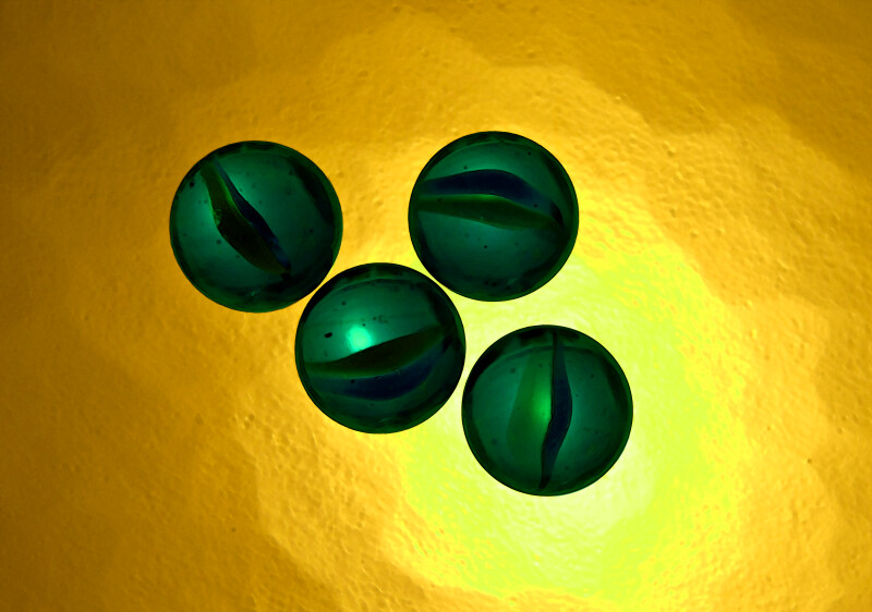 Green Marble Counting, Four