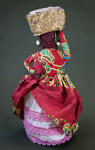 Grenada Woman Made from Fabric with Spice Basket (Full View)
