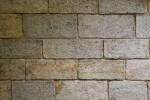 Grey and Tan Block Wall