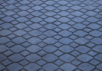 Grey-Blue Block Pattern