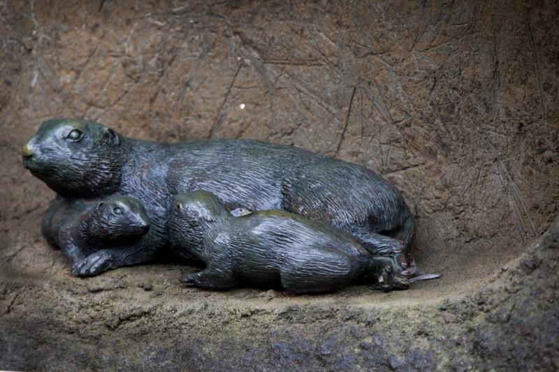 Guinea Pig Statue