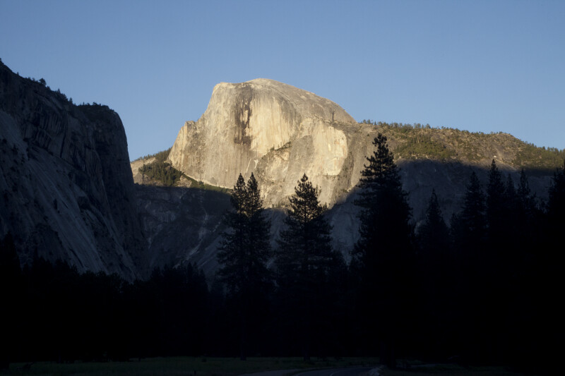 Half Dome in the Early Evening