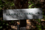 Hammock Trail Sign