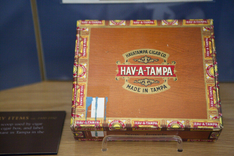 Hav-A-Tampa Cigar Box