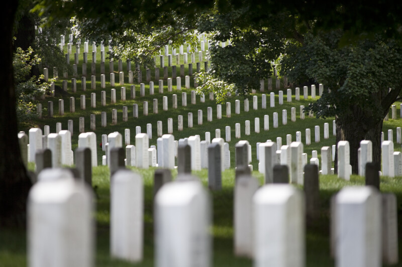 Headstones and Shade