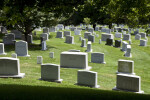 Headstones at Arlington National Cemetery