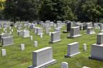 Headstones in Sunlight