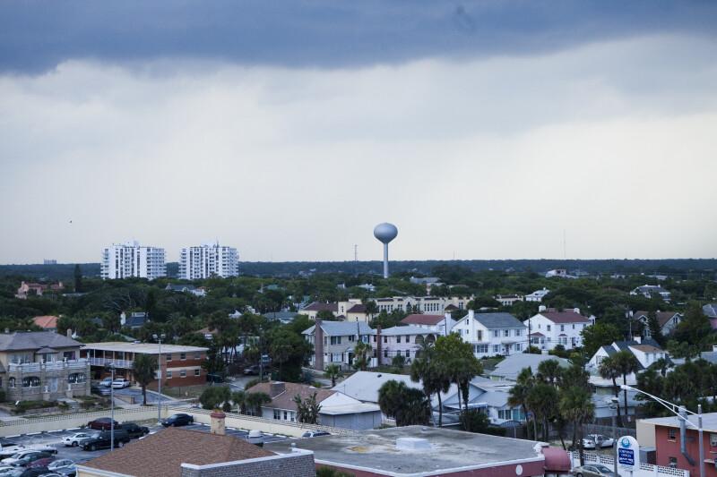 Heavy Clouds over Daytona Area