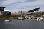 Heinz Field Stadium on Allegheny River