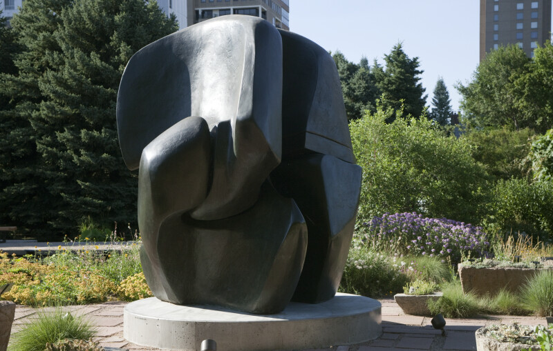 "Henry Moore's ""Locking Piece"""