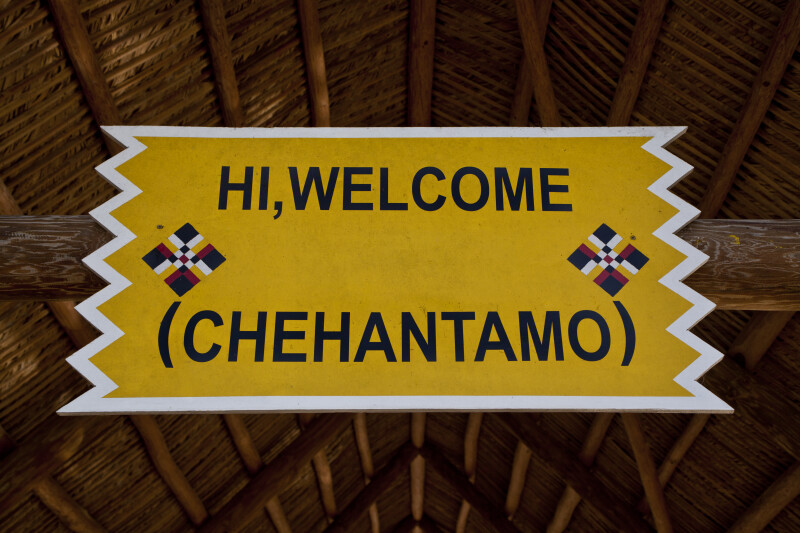 Hi, Welcome (Chehantamo) Sign
