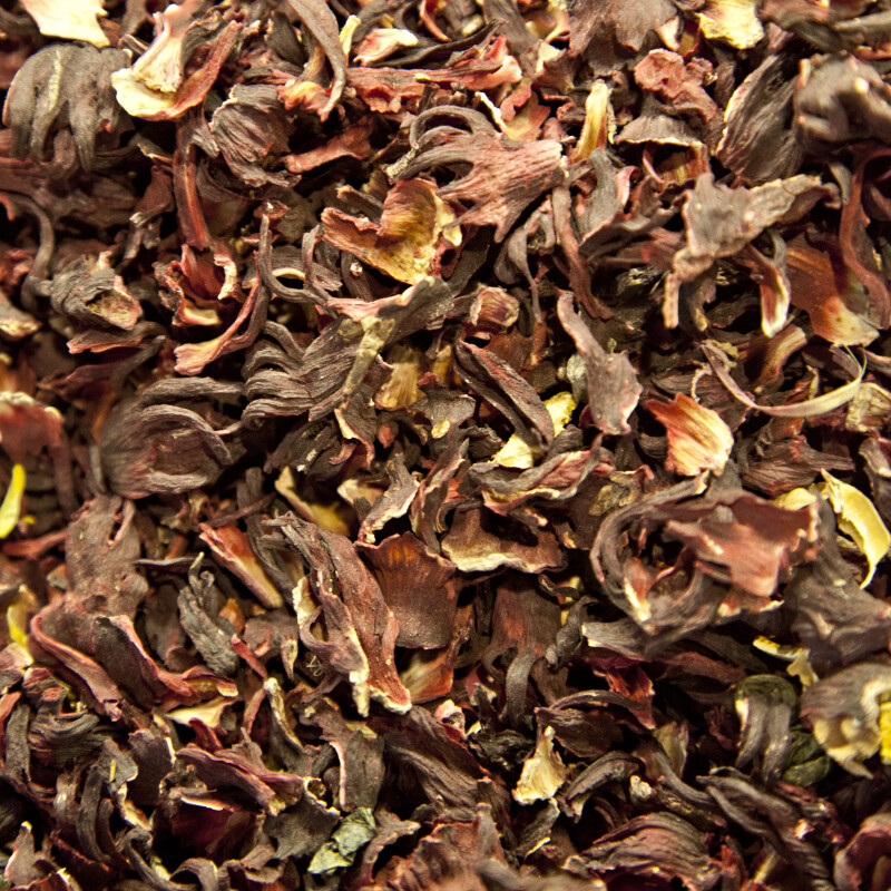 Hibiscus Tea at the Spice Bazaar in Istanbul, Turkey