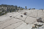 Hiking Amidst the Glacial Erratics at Olmstead Point