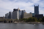 Hilton Hotel, PNC Bank, and Highmark Building