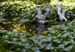 Hippocampi Statues
