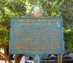 Historical Marker Dedicated to the Rough Riders