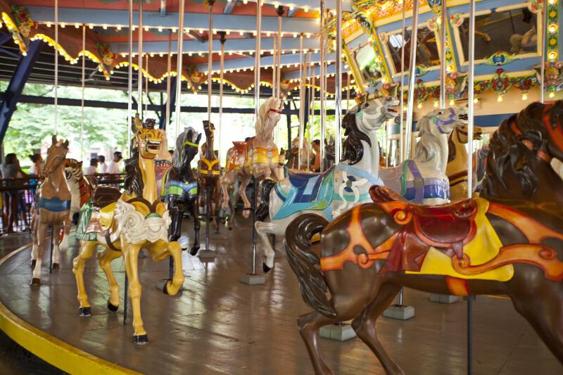 Horses on Merry-Go-Round