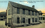 House of History on the Bay, at the Corner of Treasury Street, in St. Augustine, Florida