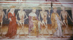 Hrastovlje, Sv. Trojice, Dance of Death, Pope, King, Queen