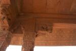 Hurja-I-Anup Talao Pavilian's Detailed Ceiling