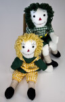 Indiana Raggedy Ann and Andy Dolls; Classical Characters Based on Stories by Johnny Gruelle (Full View)