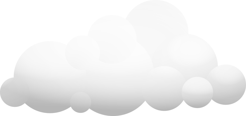 Illustration of a Large Cloud