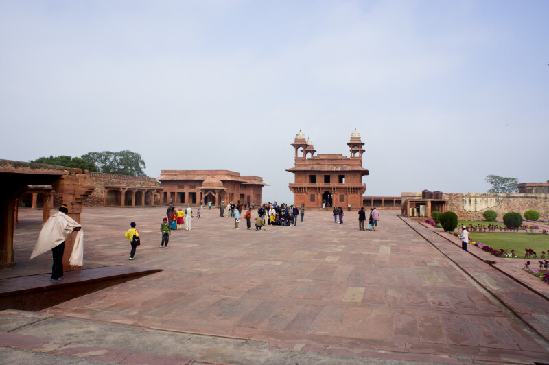 In Front of the Diwan-i-khas