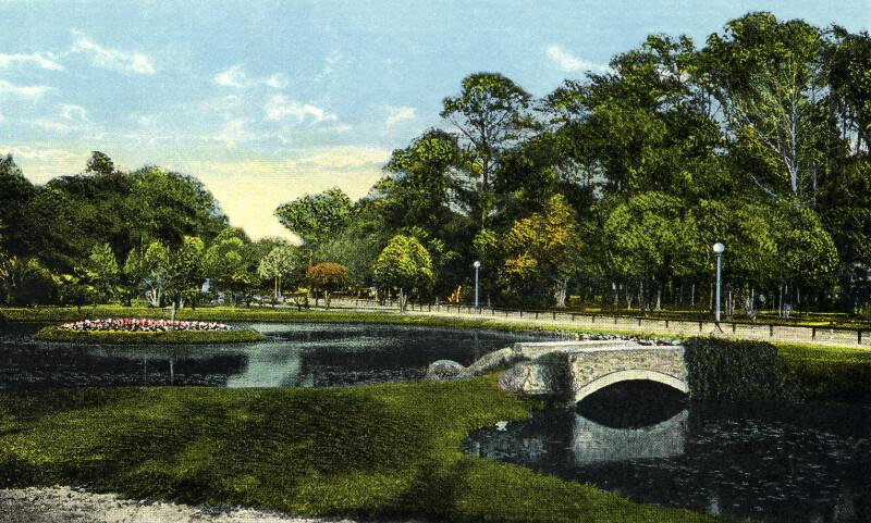 In Riverside Park