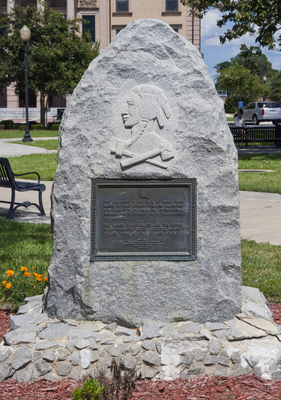 Indian Trail Marker