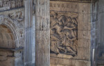 Inner Entryways of Arch of Constantine