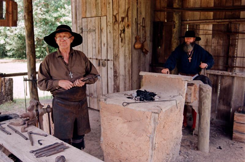 Inside the Blacksmith's Shop
