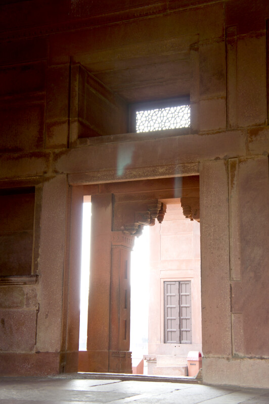 Inside the Panch Mahal
