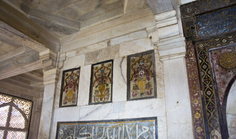 Inside the Tomb of Sheikh Salim Chishti