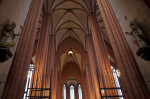 Interior Columns at Frankfurt Cathedral