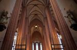 Interior Columns at Frankfurt Cathedral