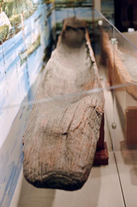 Interior of a Dugout Canoe