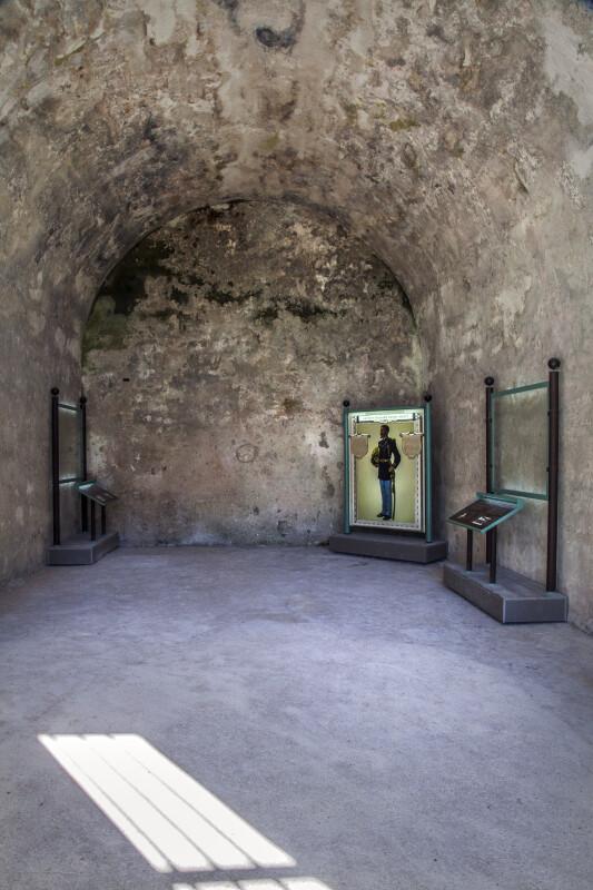 Interior of Castillo de San Marcos' Prisoner's Chapel