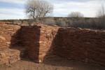 Interior Sandstone Corner at Quarai Ruins