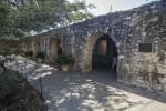 Interior Stone Wall of the Alamo